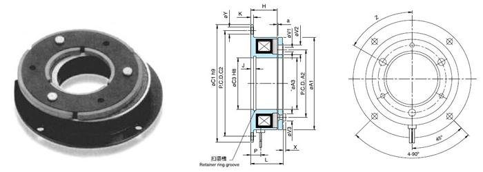 电磁式制动器tj-b-台湾天机牌制动器离合器